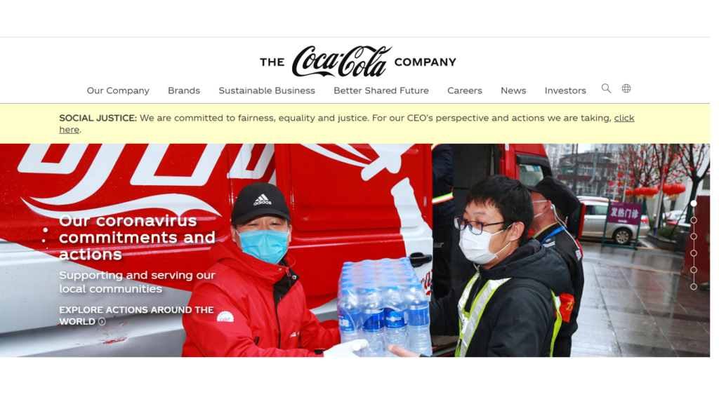 Coca-COLA recruitment portal