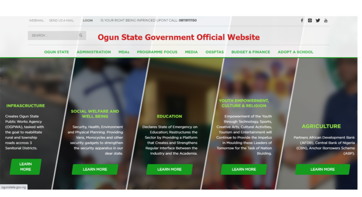 Ogun State Government Website